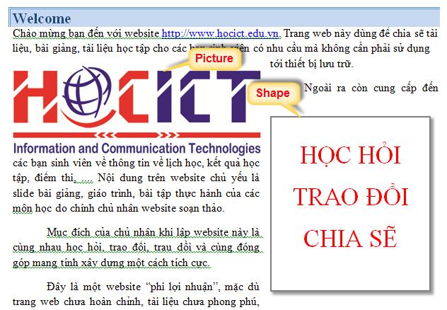 Chen doi tuong do hoa vao word